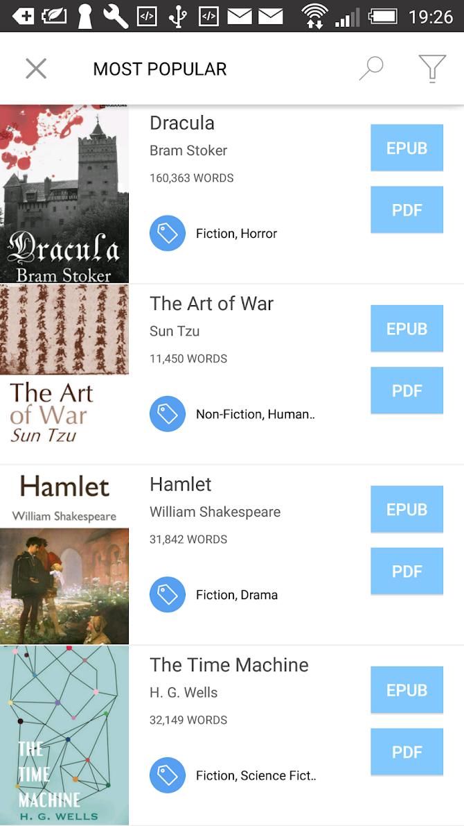 Bookari Ebook Reader Premium Android 7