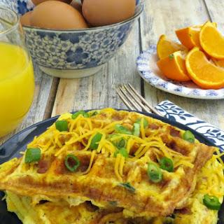 Omelet Waffle