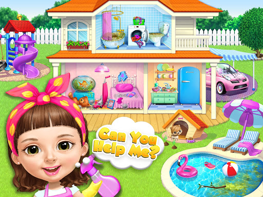 Sweet Baby Girl Cleanup 5 - Messy House Makeover  screenshots 12