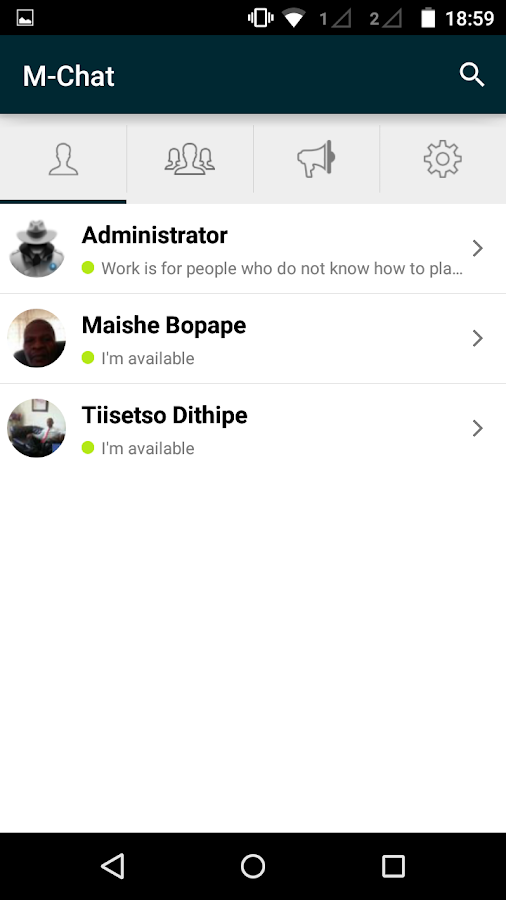 m chat android apps on google play