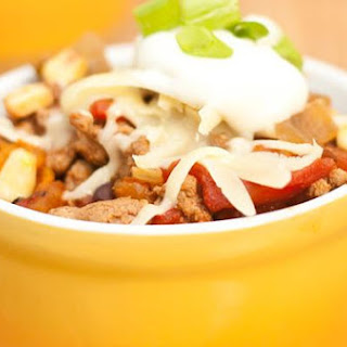 Kicked Up Slow Cooker Chili