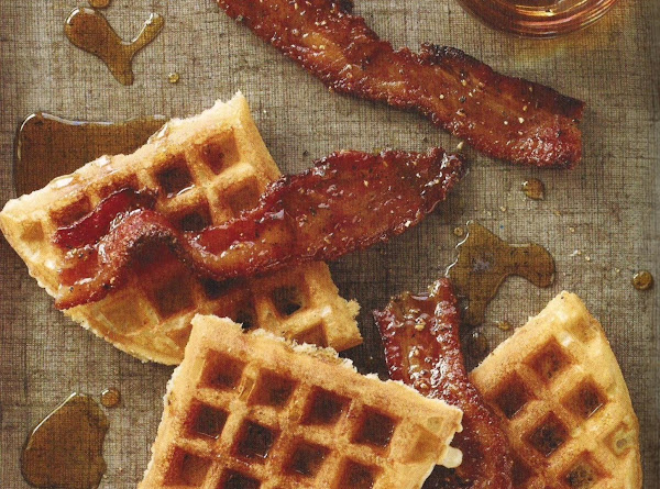 Light Crisp Vanilla Waffles Recipe
