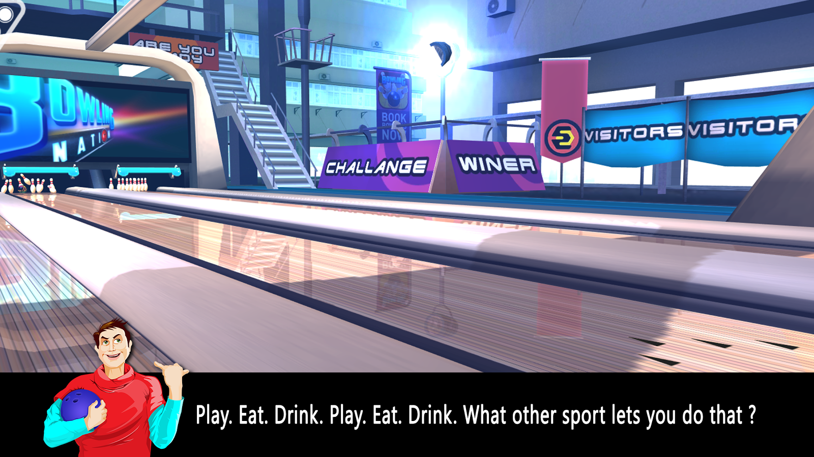 Bowling Nation 3D- screenshot