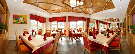 Photo: Restaurant Wintergarten 2011 Hotel Egger Hinterglemm