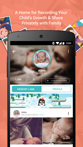 First Smile - Baby Photo & Scrapbook App 👶📸 Screenshot