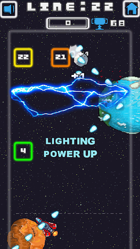 Space Blast Block Attack android2mod screenshots 2