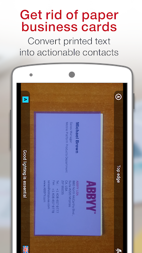 Download Abbyy Business Card Reader Android Apps Apk 3174415