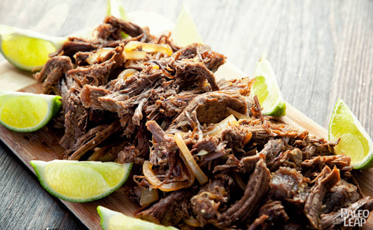 Cuban Shredded BeefRecipe Recipe