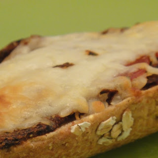Clean Eating Healthy French Bread Pizza (OAMC).
