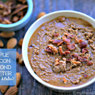Maple Bacon Almond Butter (Paleo & Low Carb) Recipe