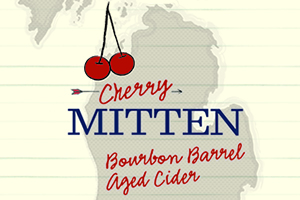 Logo of Virtue Cider Cherry Mitten