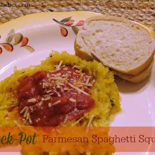 Crock-Pot Parmesan Spaghetti Squash.