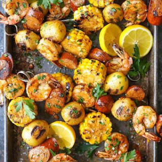 Shrimp Boil Kabobs