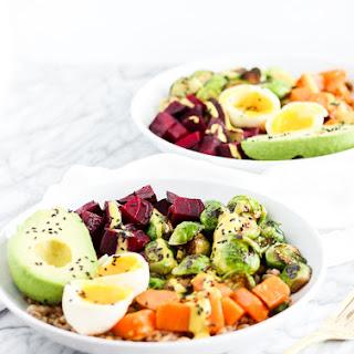 Vegetarian Rainbow Buddha Bowl Recipe