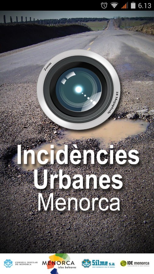 Incidencias urbanas Menorca- screenshot