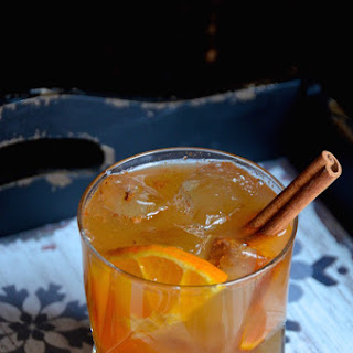 Spiced Apple Cider Rum Punch Cocktail Recipe