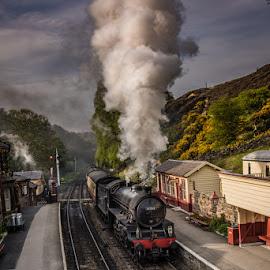 by Stephen  Barker - Transportation Trains