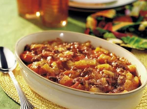 Tropical Sweet Potatoes Recipe