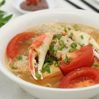 Crab Noodle Soup (Bun Rieu).