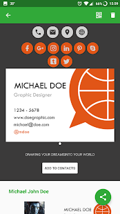 Knowee - Digital Business Cards- screenshot thumbnail