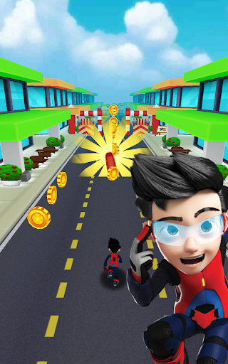 Subway Ejen Ali Rush: Run, Dash & Jump Subway Game for PC