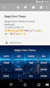 Magic Paris Emoji Keyboard screenshot 2