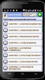 Cours de Technique Commerciale - náhled