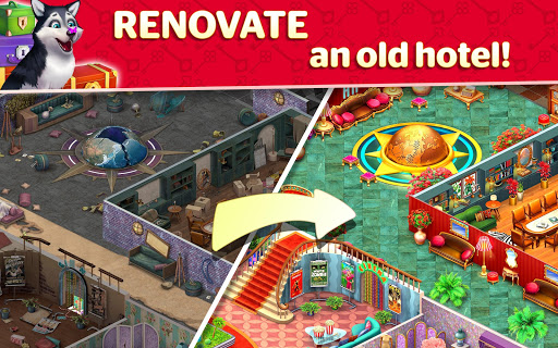 Hotel Blast apkpoly screenshots 17