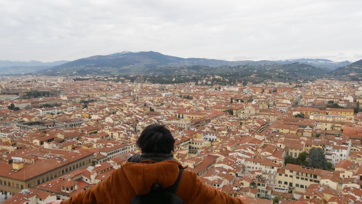 フィレンツェの赤屋根