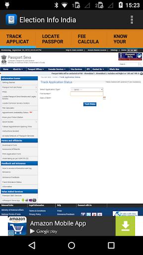 Indian Passport Status New