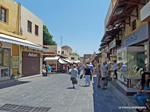 Photo: Rhodos oude stad.
