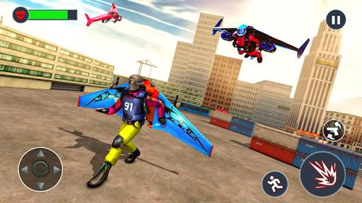 Flying Jetpack Hero Crime 3D Fighter Simulator 1.9 screenshots 3