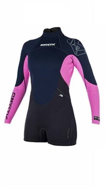 Mystic wetsuit shorty dames 3/2mm
