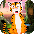 Kavi Games 410 - Tiger Rescue From cave Game