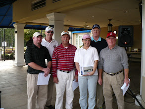 Photo: 5th Place Team - Bobby Adams (Team Members not in order) Bill Brunk, Jason Eaton, Camden Eaton, Lisa Yates, Cecil Booher