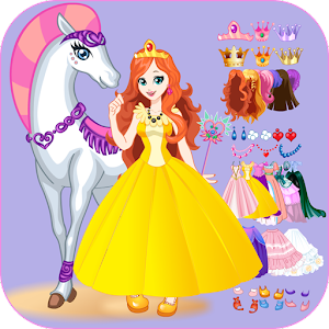White Horse Princess Dress Up for PC and MAC