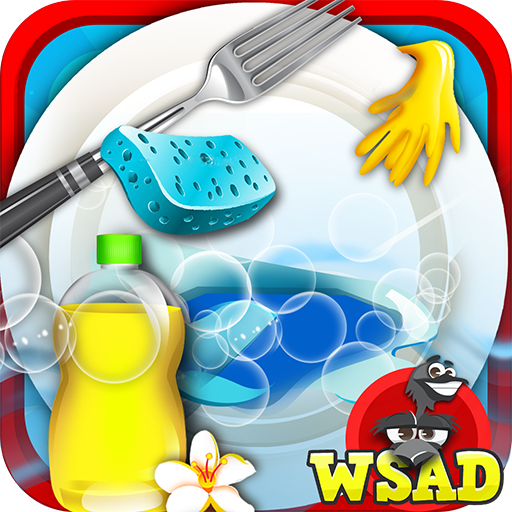 Princess Dish Washing-Cleanup 休閒 App LOGO-硬是要APP