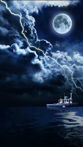 Thunderstorm Night Free 3D LWP