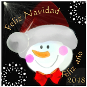 Merry Christmas and new year 2018. Foto Cards
