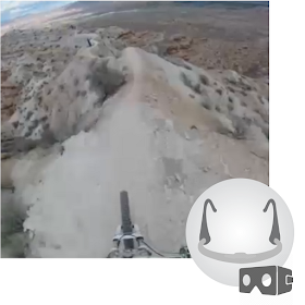 Downhill Ride (Breathing VR)