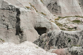 Photo: While vegetation and animals are sparse, some animals are around. We thought we saw bats around these caves
