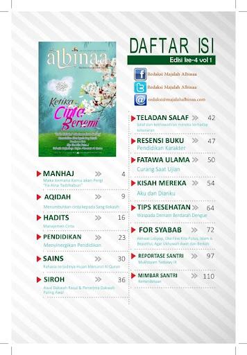 Majalah Albinaa Edisi 4