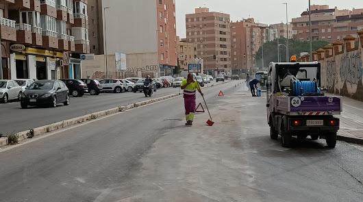 Cuidado si circulas por la avenida de la Autovía del Aeropuerto