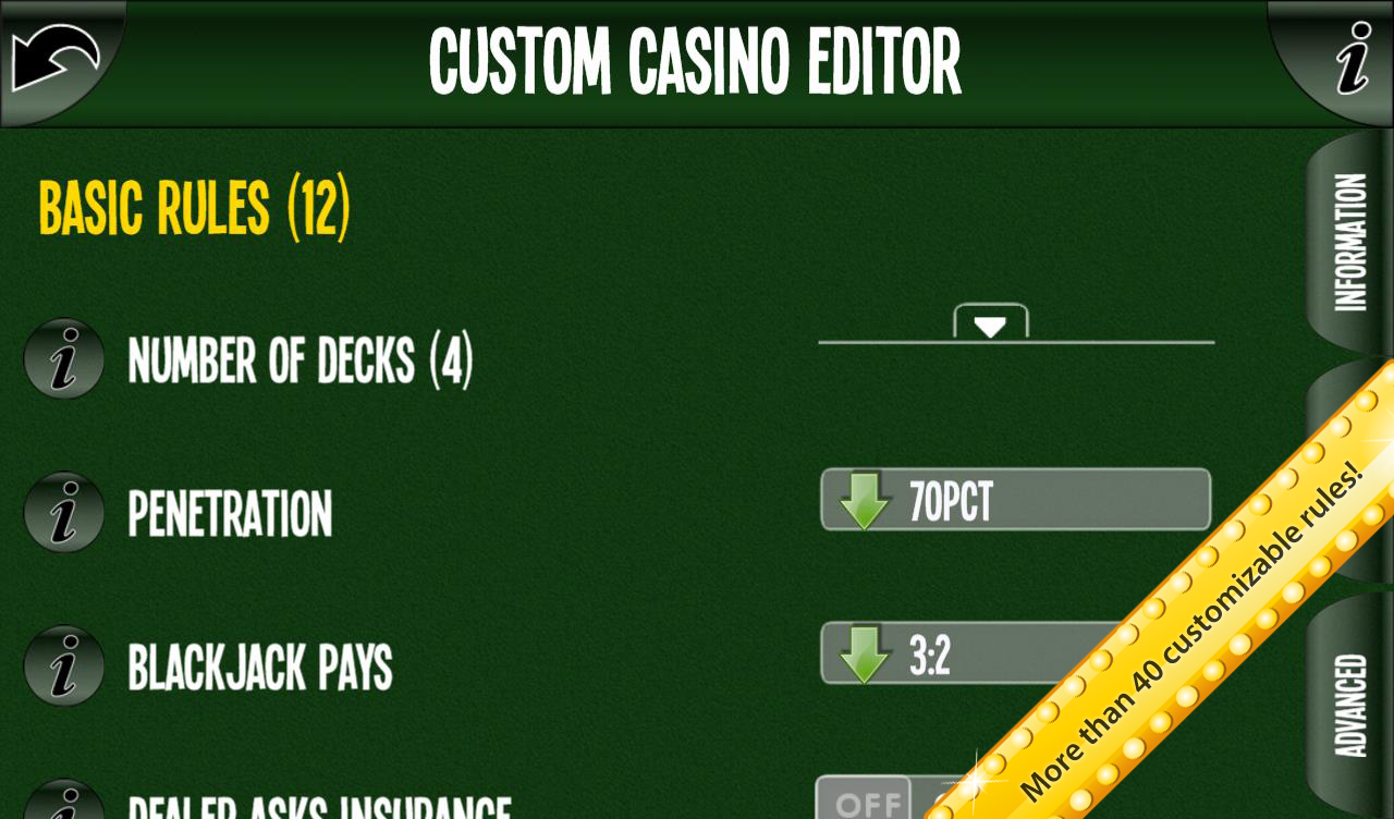 Ultimate BlackJack 3D Reloaded- screenshot