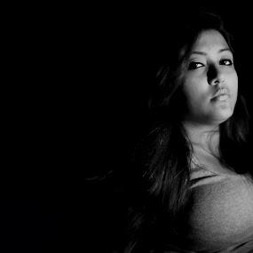 Self Portrait by Dipannita Dey - People Portraits of Women