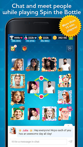 Kiss Kiss: Spin the Bottle for Chatting & Fun 3.5.90008 APK MOD screenshots 1