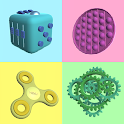 Fidgets - Antistress Satisfying ASMR clicker game icon