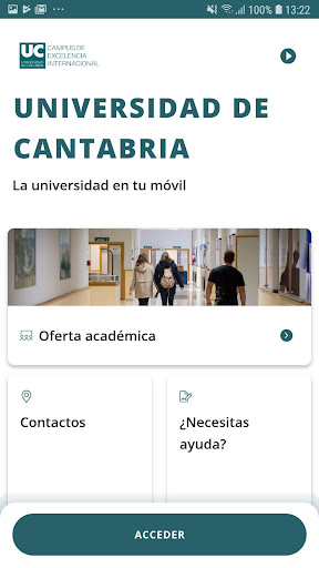 Universidad de Cantabria screenshot 1