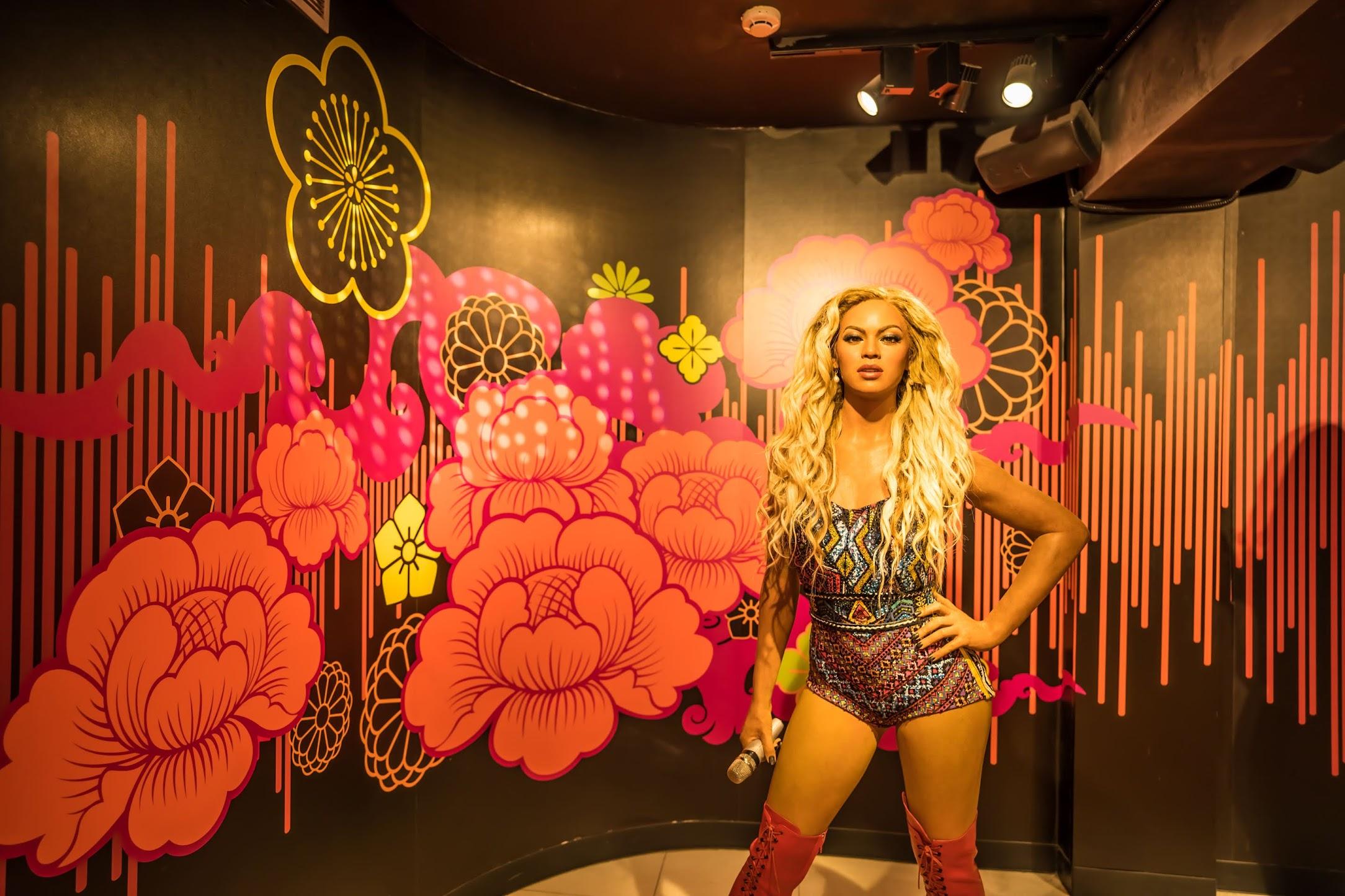 Singapore Sentosa Island Madame Tussauds Singapore Beyoncé
