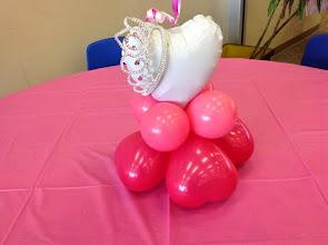 Photo: princess party-centerpiece base
